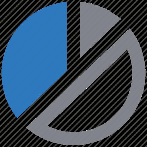 business, chart, data, graph, pie, statistics icon