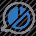 discussion, report icon