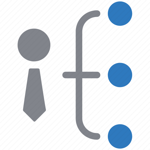 business, hierarchy, management, structure icon