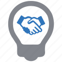 agreement, business, deal, partnership icon