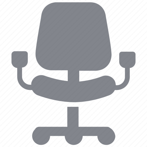 business, chair, furniture, office, seat icon