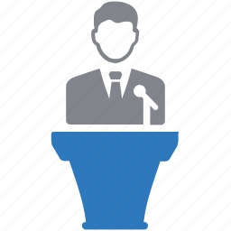 conference, lecture, meeting, presentation icon