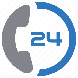 advice, help, hour, support, telephone icon