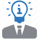 brainstorming, business idea, creative idea icon