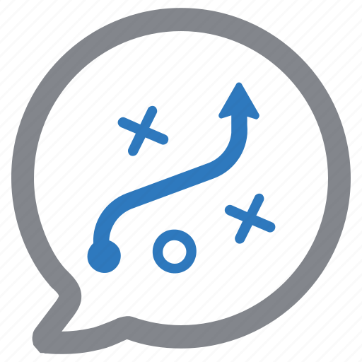 discussion, management, plan, planning, strategy icon