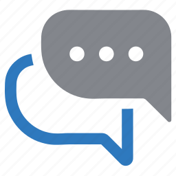 bubble, chat, communication, discussion, message, talk icon