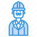 avatar, business, man, mechanic icon