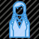 avatar, braid, business, people, profile, user, woman icon