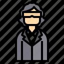 avatar, business, man, professor, scientist icon