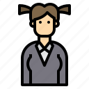 avatar, business, people, profile, user, woman icon