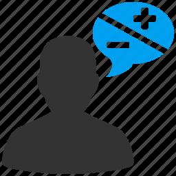 argue, blog, chat, comment, communication, message, talk icon