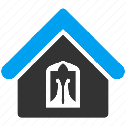 agency, building, company, home, house, office, private icon