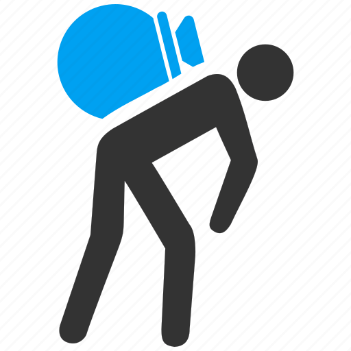courier, delivery, logistic, thief, transportation, work, worker icon