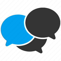 bubble, chat, comment, forum, sms, speech, talk icon