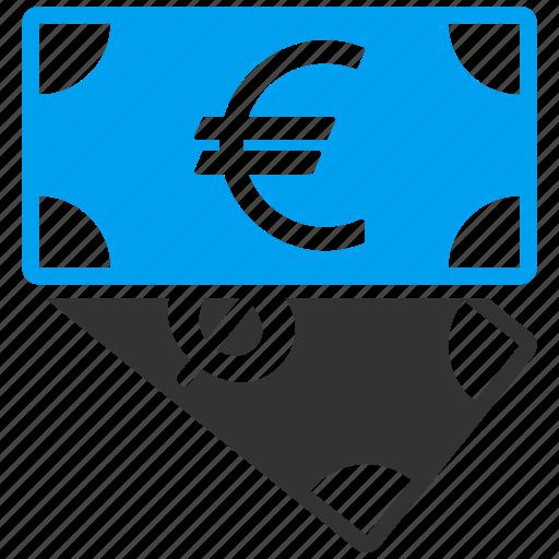 banknotes, cash, dollar, euro, finance, financial, money icon