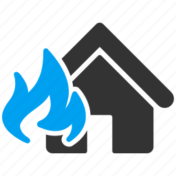 accident, burn, crash, damage, danger, fire, flame icon