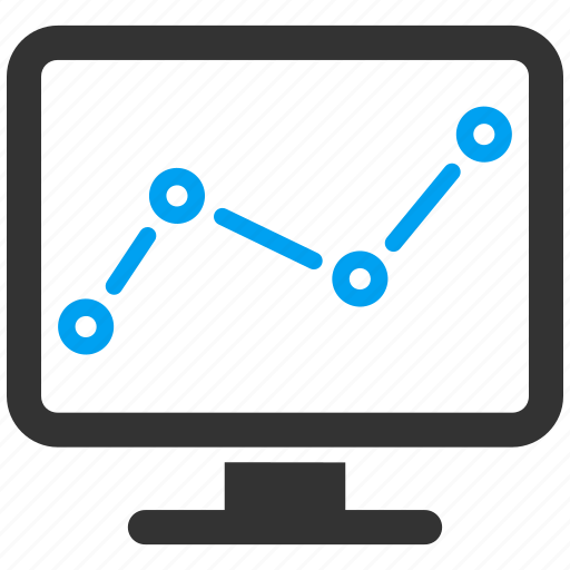analytics, chart, data, graph, monitor, report, statistics icon