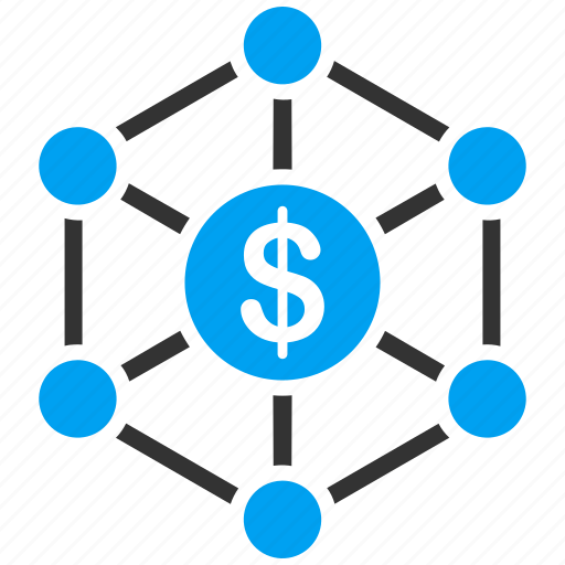 bank structure, banking network, chart, connection, finance, financial links, money icon