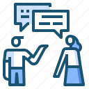 chat, cooperation icon