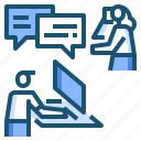 call, customer, service, support icon