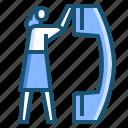 customer, service icon