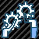improvement, management, productivity, strategy, success icon