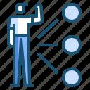 job, management, skill icon