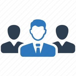 business, businessman, leadership, team icon