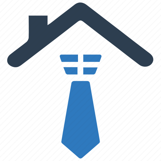business security, office building icon