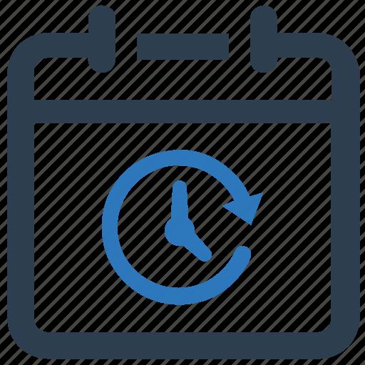 calendar, deadline, schedule, time icon