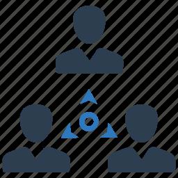connection, team, teamwork, user icon