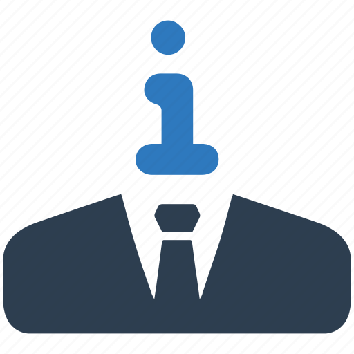 business, information, support, user icon