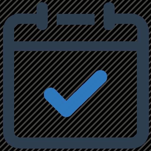agenda, appointment, calendar icon