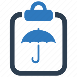 business, document, insurance, policy, protection icon