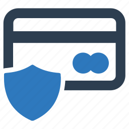 banking, credit card, payment card, protection, secure, security icon