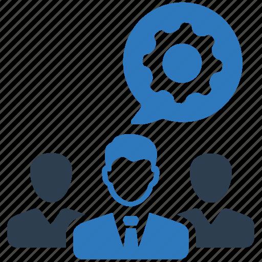 gear, support, team, teamwork, technical icon