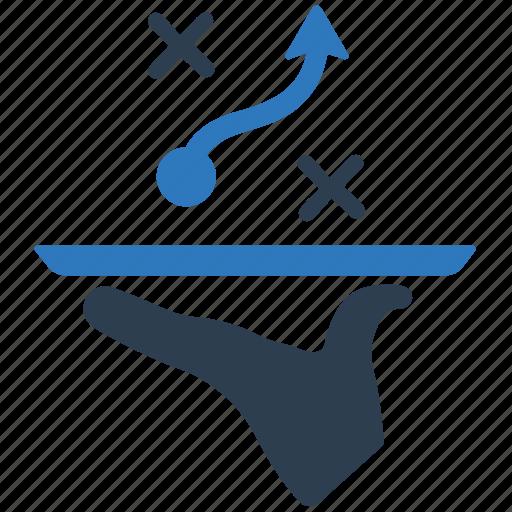 planning, presentation, strategy icon