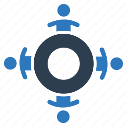 business, conference, discussion, meeting, teamwork icon