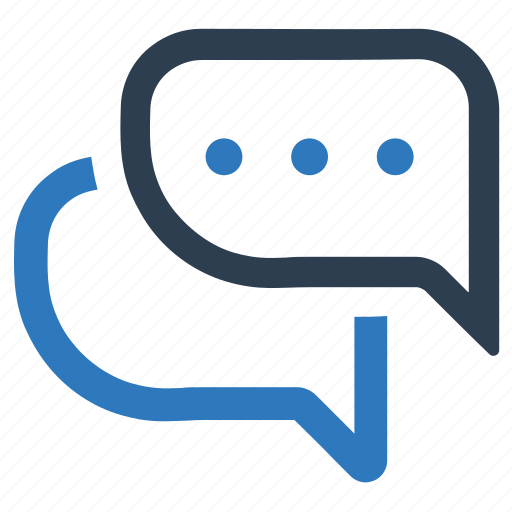 chat, conversation, dialogue, discussion icon