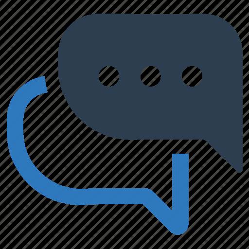conversation, discussion, talk icon