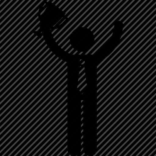Business, businessman, prize, reward, trophy, win, winner icon - Download on Iconfinder