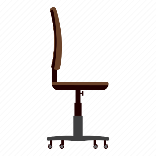 cartoon, chair, comfortable, furniture, modern, office, seat icon
