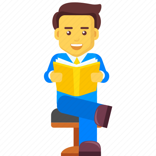 case study, character, learning, read, reading, study icon
