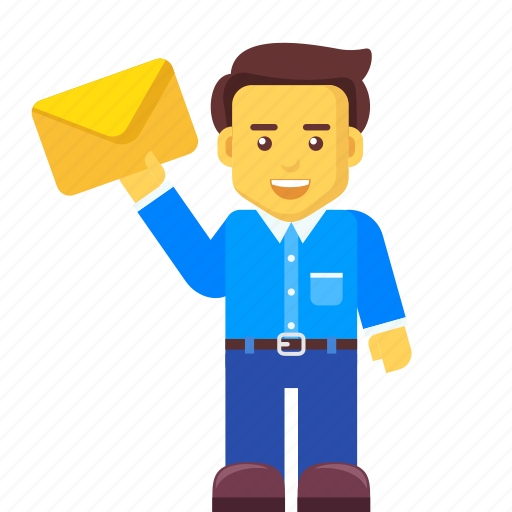 business, character, email, letter, mail, message icon