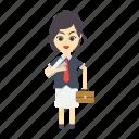business, employee, female, girl, women