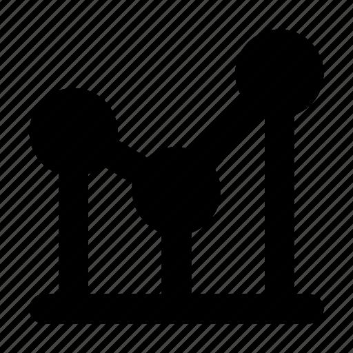 analysis, analytics, bar, chart, forecasting, graph, growth icon