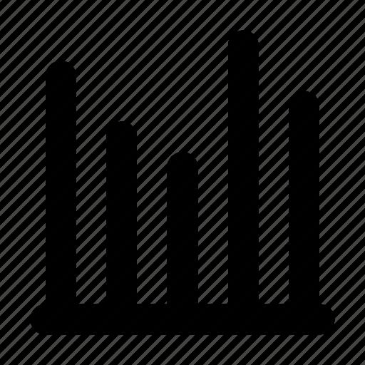 analytics, bar, bars, chart, graph, statistics icon