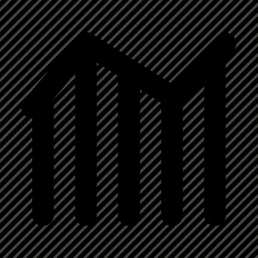 analytics, bar, chart, graph, icline, infograph, statistics icon
