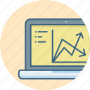 analysis, business, chart, diagram, growth, report icon