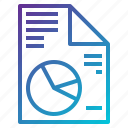 analysis, bar, chart, document, graph, report